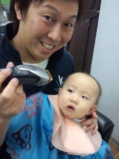 赤ちゃん筆 記念筆 赤ちゃん髪.jpg